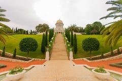 Bahai庭院,海法 图库摄影