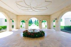 Bahai庭院,英亩 免版税库存照片