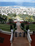 Bahai庭院以色列 库存图片