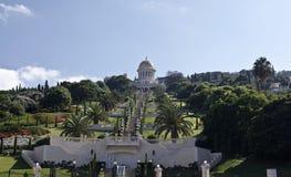 Bahai Świątynia Ogródy i Zdjęcia Royalty Free