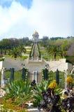 bahai садовничает висок haifa Израиля Стоковая Фотография RF