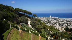 bahai садовничает haifa Стоковые Фото