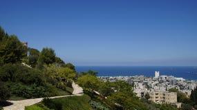 bahai садовничает haifa Стоковые Изображения