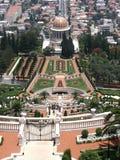 Bahai Gärten Stockbild