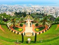 Bahai-Gärten Lizenzfreies Stockbild