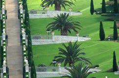 Bahai Gärten Stockfotografie