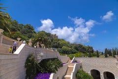 Bahai Gärten, Haifa, Israel Lizenzfreie Stockfotografie