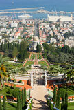 Bahai garden in Haifa Royalty Free Stock Photos
