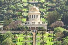 Bahai Garden Royalty Free Stock Image