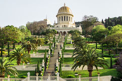 Bahai Garden Royalty Free Stock Images
