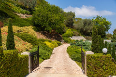 Bahai Garden in Haifa, Israel. Stock Photo