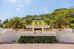 Bahai Garden in Haifa, Israel. Royalty Free Stock Images