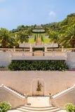 Bahai Garden in Haifa, Israel. Stock Image