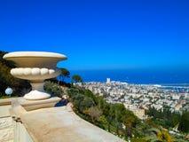Bahai garden in Haifa, Israel Stock Images