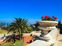 Bahai garden in Haifa, Israel Royalty Free Stock Image