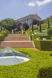 Bahai Garden in Haifa North Israel Royalty Free Stock Image