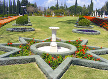 Bahai garden in israel Stock Photo