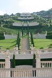 Bahai Gardens Stock Photography