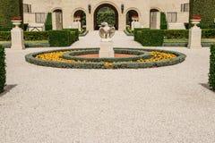Bahai Gardens, Acre Stock Photo