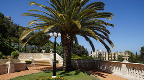 Bahai Gardens Royalty Free Stock Photography
