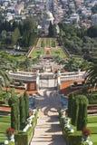 The Bahai gardens Royalty Free Stock Photos