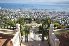 The Bahai gardens Stock Images