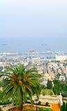 Bahai Gardens and German colony, Haifa Royalty Free Stock Images