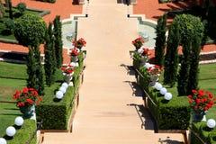 Bahai gardens, Haifa Royalty Free Stock Photos