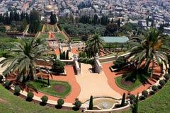 Bahai gardens, Haifa Royalty Free Stock Photo