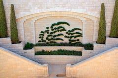 Bahai gardens of Haifa Stock Photo