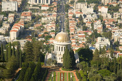 Bahai gardens, Haifa, Israel Stock Photography