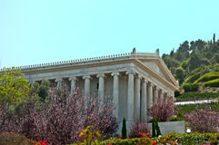 Bahai gardens, Haifa, Israel. Royalty Free Stock Photography