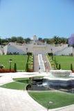 Bahai Gardens. The Bahai Gardens in Haifa, Israel Stock Photo