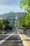 Bahai gardens in Haifa Royalty Free Stock Photo