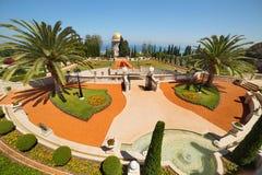 Bahai Gardens in Haifa. Israel Stock Image