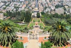 Bahai Gardens in Haifa, Israel. Royalty Free Stock Photos