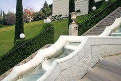 Bahai Gardens in Haifa, Israel Stock Photos
