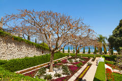 Bahai gardens at Haifa, Israel Royalty Free Stock Image