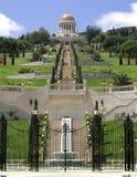 Bahai Gardens in Haifa North Israel