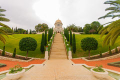 The Bahai gardens, Haifa Stock Photography