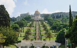 Bahai gardens, Haifa Stock Photos