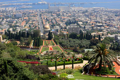 Bahai gardens, Israel Stock Photos