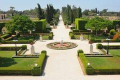 Bahai Gardens near Acre Stock Photography