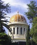 Bahai historical temple haifa Stock Photography