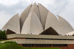 Bahai house of worship in Delhi, India Royalty Free Stock Images