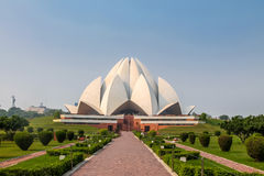 Bahai Lotus Temple - New Delhi, India. Bahai Lotus Temple in New Delhi, India stock photography