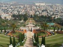 Bahai ogród, Haifa Zdjęcia Stock