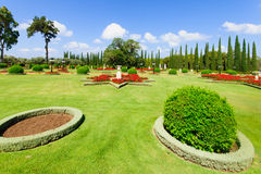 Bahai ogródy, akr Obrazy Royalty Free
