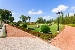 Bahai ogródy, akr Fotografia Royalty Free