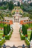 Bahai ogródy - portriat Zdjęcia Royalty Free
